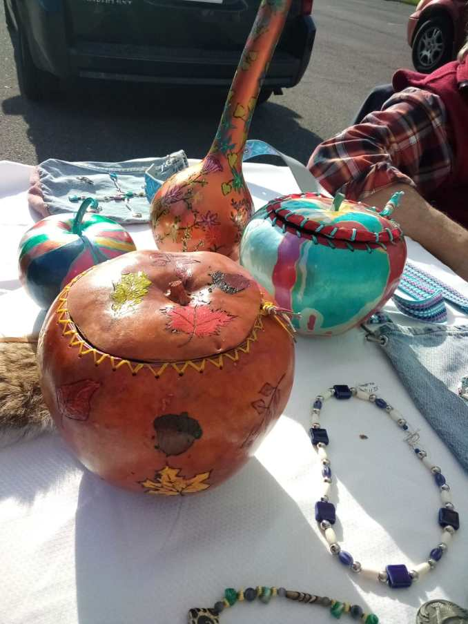 Creations by Big Bear Handpainted Gourds