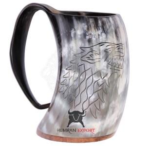game of throne horn mug