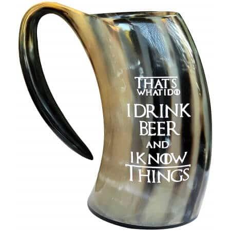 horn mug curving