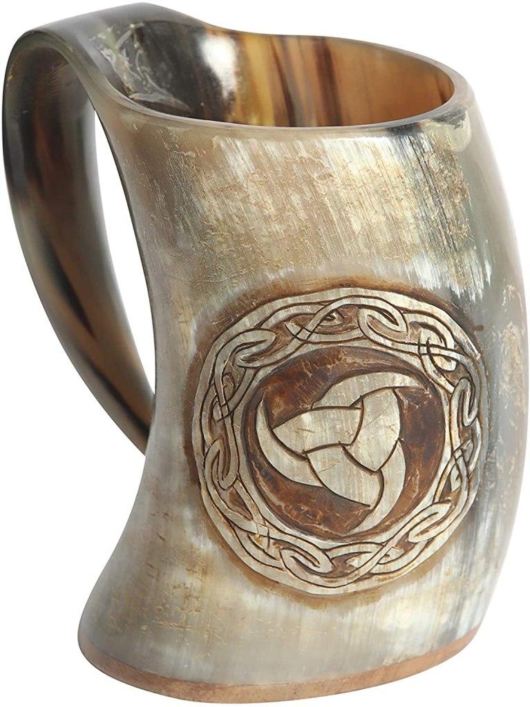 horn mug odin curving