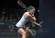 Egyptian squash players