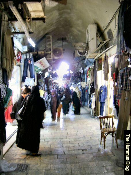 Old Jerusalem alleyway.