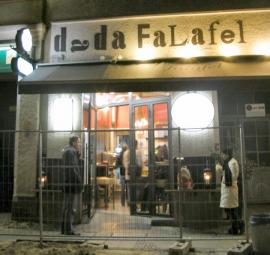 Dada falafel. The best.