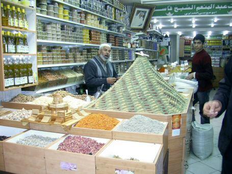 חנות תבלינים בעיר העתיקה