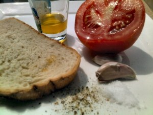 לחם צפתי, רגע לפני ההכנה