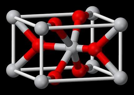 טיטניום דיוקסיד. המולקולה