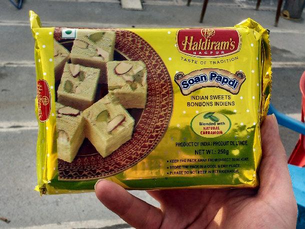 סואן פפדי, חלבת חומוס הודית