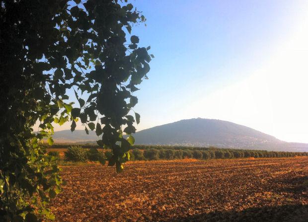 הר תבור, הנוף מאבו ג'מאל