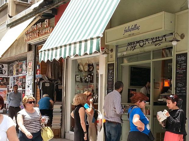 פלאפלאס, הפלאפל הכי טוב באתונה