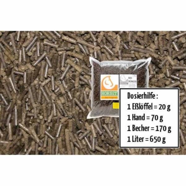 horsit 5kg biod nger pellets aus pferdedung bio d nger. Black Bedroom Furniture Sets. Home Design Ideas