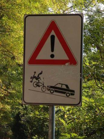 Radfahrer aufgepasst!!