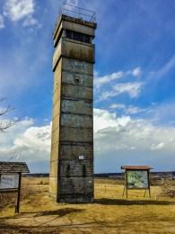 Beobachtungsturm der DDR-Grenzposten