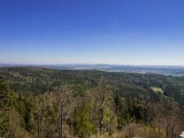 Aussicht von der Burgruine Weißenstein