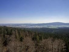 Aussicht von der Schüssel am Großen Waldstein