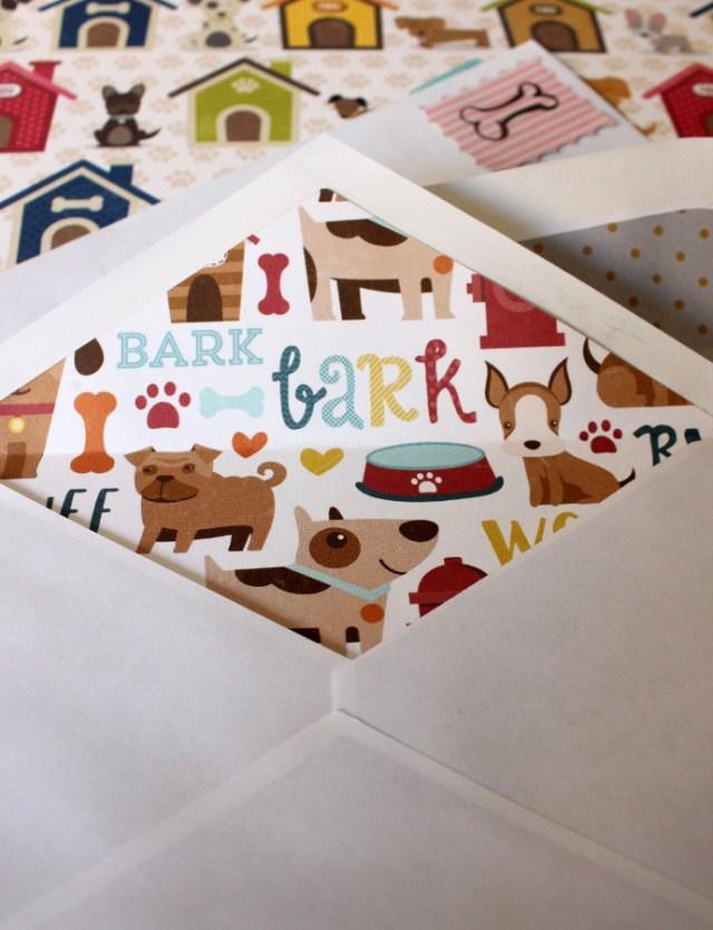 DIY Tutorial Hunde Hundeblog Kuvert selbermachen