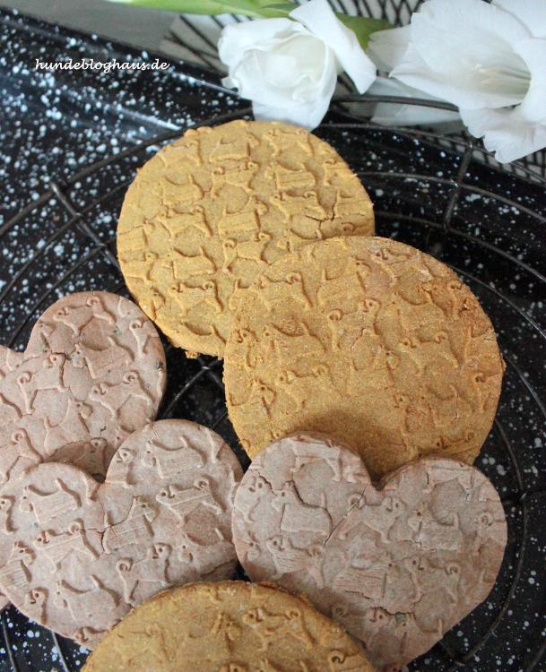Leckerli Hundekekse für Allergiker getreidefrei Hundekekse selbermachen Rezepte DIY
