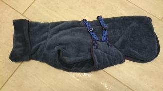 Mantel mit Bauchlatz