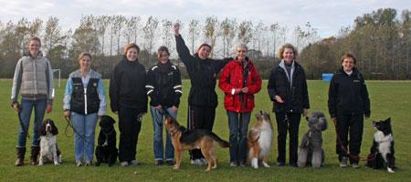 Deltagere på klikkerinstruktøruddannelsen 2009 (Hold 7)