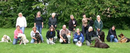 Deltagere på klikkerinstruktøruddannelsen 2007 (Hold 4)