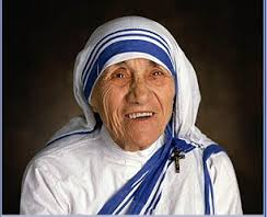 Mother Teresa embraces new forms of wealth