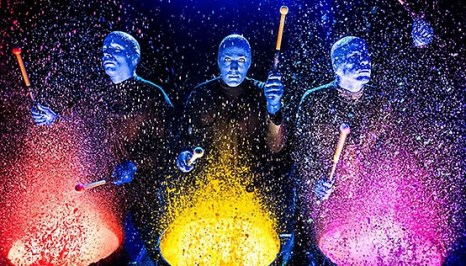 Blue Man Group showing us importance of educating our hearts and minds