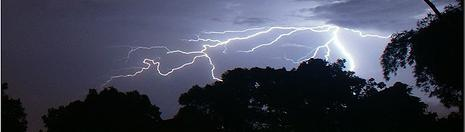 """""""Lightning 2 ~Hand that swing a cradle can shake the world!~"""" by neeZhom ~ away ~ @ Flickr"""