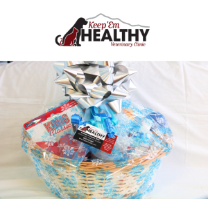 Pet Care Gift Basket