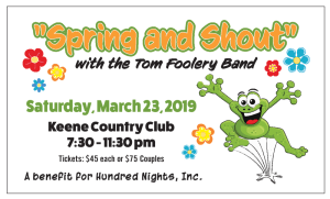Spring and Shout Tickets 2019