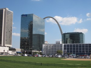 Downtown St. Louis Arch