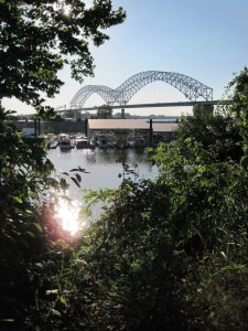Hernando Desoto Bridge Mississippi River Memphis