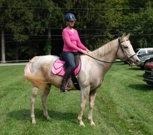 Clothes made of cotton are perfect for nearly everything, including riding a horse.