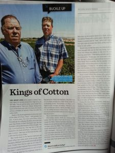 kings of cotton Ben & Wade Ivey