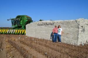 Kissed a Farmer -- cotton farmers in San Angelo, Texas