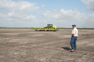 planting in south Texas clay soils
