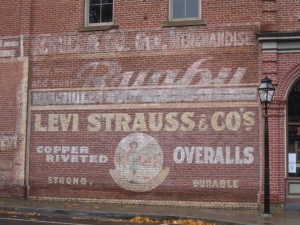 Levi Strauss jeans history
