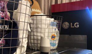 Google home laundry