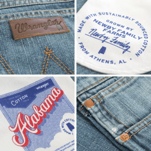 wrangler rooted jean details