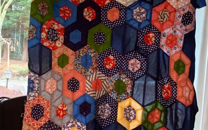 first quilt top finished for Ginger Price