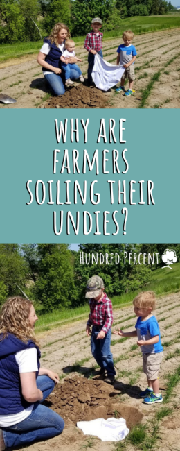 why are farmers soiling their undies