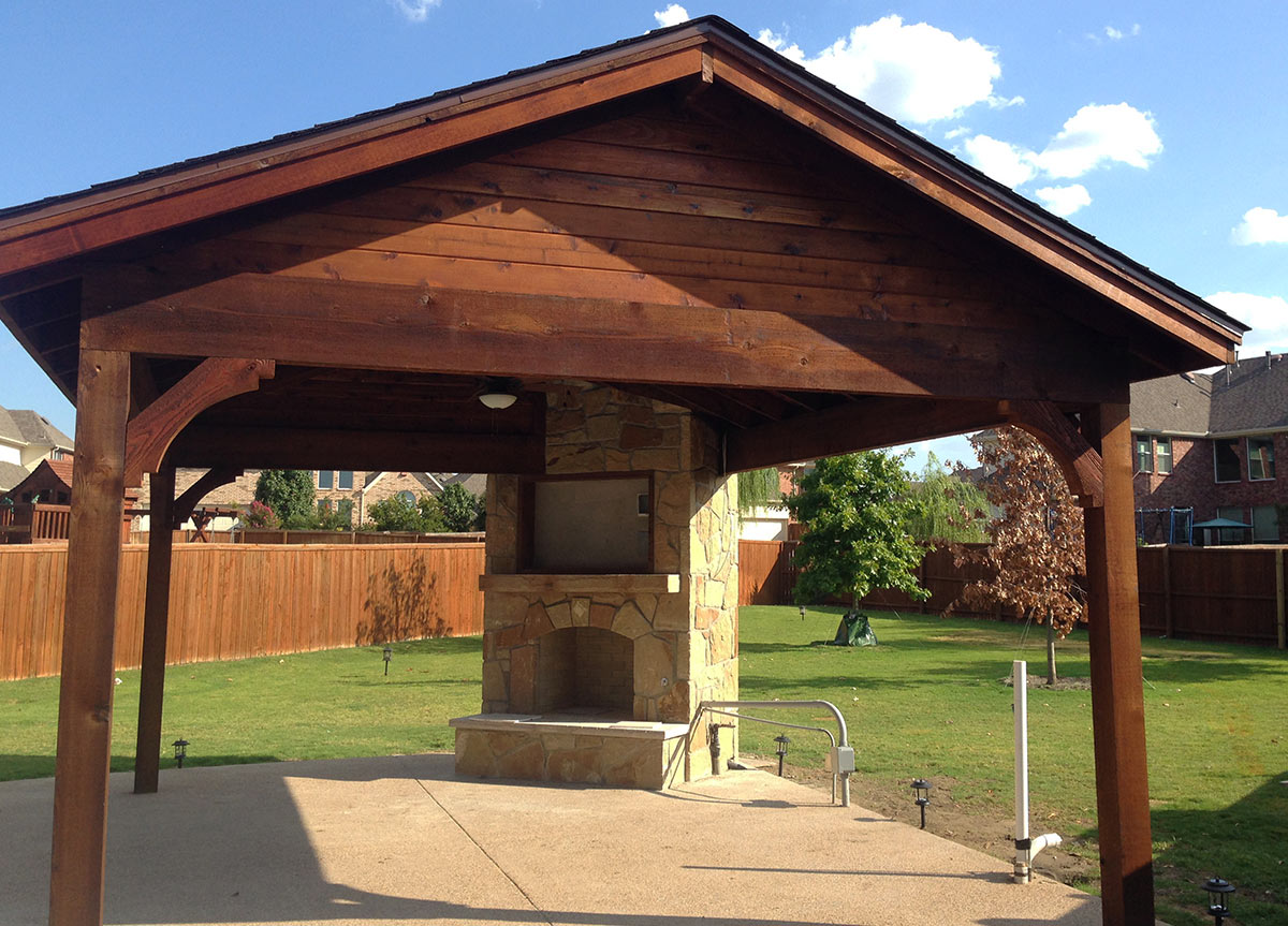 Frisco Patio Cover: Poolside - Hundt Patio Covers on Patio Cover Ideas Images id=18420