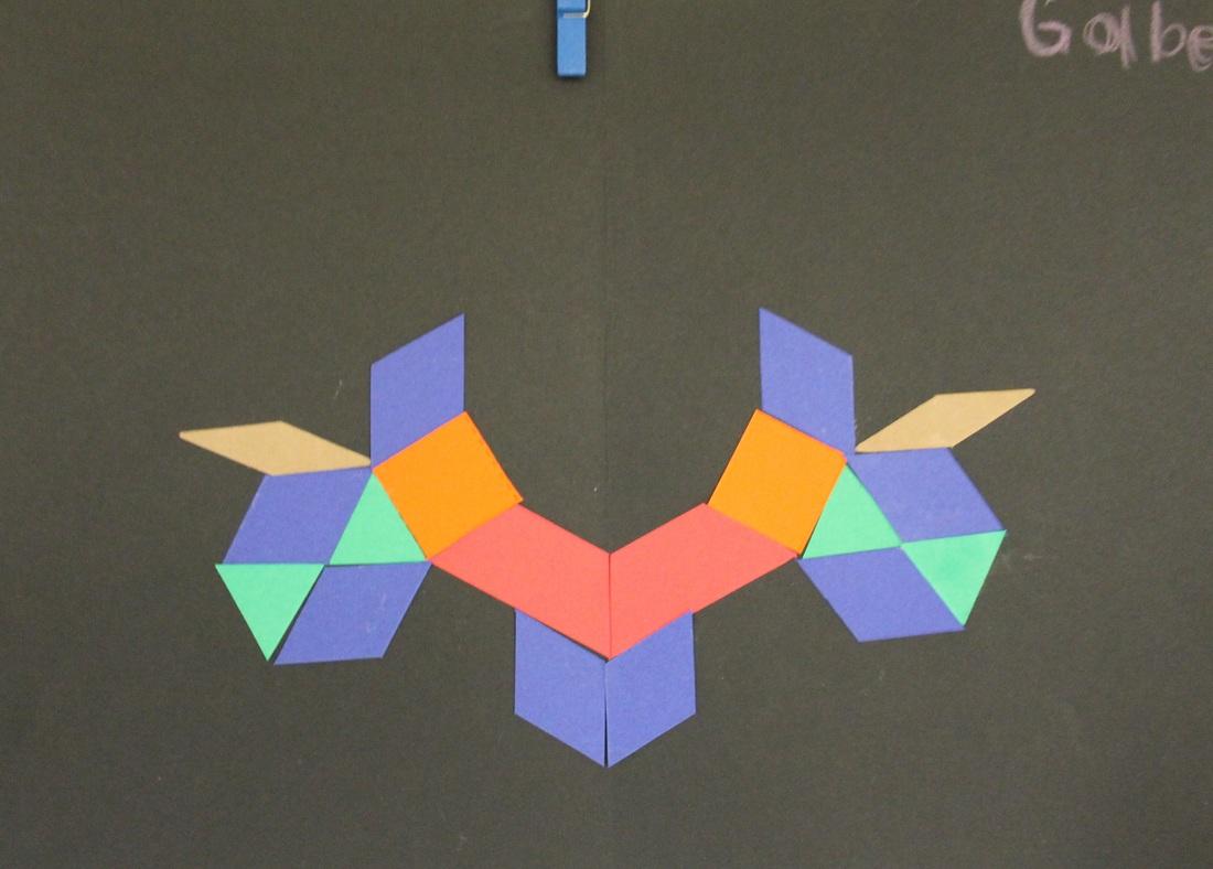 Symmetrical Pattern Block Designs