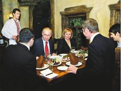 Gyurcsany and Putin