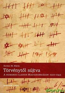 Mária M. Kovács, Afflicted by Law: The Numerous Clausus in Hungary, 1920-1945 / IPon.hu