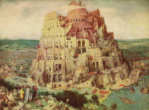 The Tower of Babel by Pieter Breughel