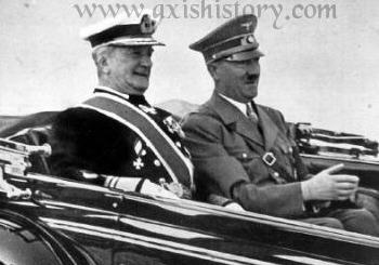 Horthy and Hitler