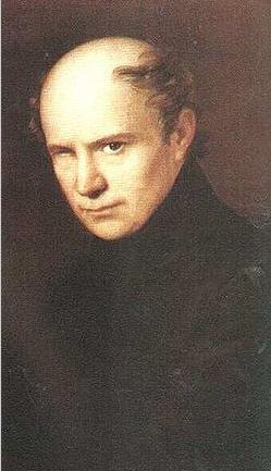 Ferenc Kölcsey, portrait by Anton Einsle, 1835 / Wikipedia.org