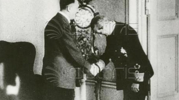 Hitler and Horthy