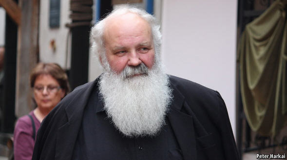 Gábor Iványi, one of the victim's of the Orbán regime's church law