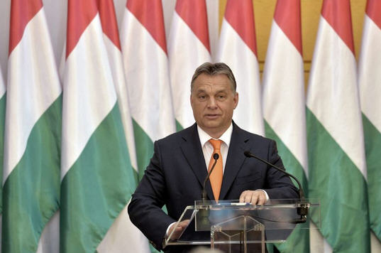 Viktor Orbán speaks on his achievement of the last five years