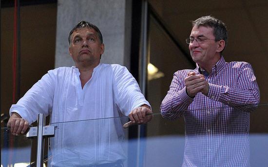 Viktor Orbán and István Garancsi